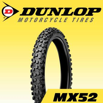 Dunlop Tire MX52F 70/100-19 42M Tubetype Motorcycle Tires