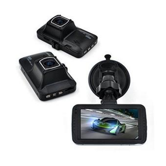 DVR FH01 1080P HD Vehicle Data Recorder Car DVR Night Vision GadgetBox Dash Camera (Black) - 5