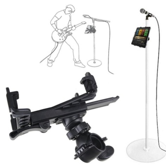 Eachgo Durable Plastic Tablet PC Support Bracket Adjustable Music Microphone Stand Holder Mount For 7-11 Inch Tablet Pad - intl - 4