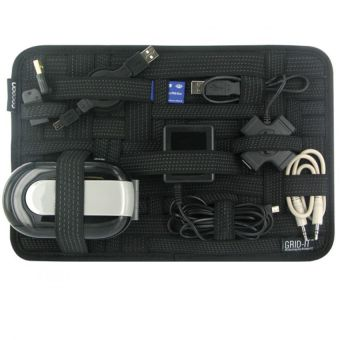 Elasticity Grid It Travel Organizer (Black)