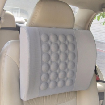 Electric Massage Pillow for Vehicle-Grey - intl