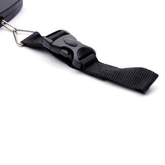 Electronic Luggage Scale (Black) - 2