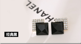 Elegant cool elegant anti-allergy stud earrings