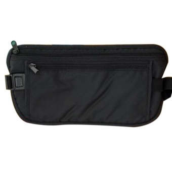 Elife Travel Waterproof Sport Pouch Bag Hidden Anti-theft Zipper Money Waist Belt Holder Pocket - intl - 2