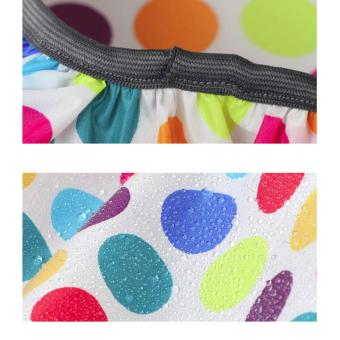 Elite Backpack Cover / Duffle Trolley Cover / Bag Cover / SchoolBag Trolley Cover - Multi Dotted - 4