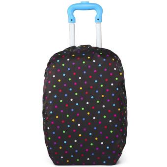 Elite Backpack Cover / Duffle Trolley Cover / Bag Cover / SchoolBag Trolley Cover - Multi Dotted