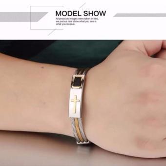 Eternal Jewelry Cross Jesus Premium Stainless Steel Bracelet - 2
