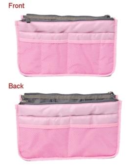 ETOP Women Travel Insert Handbag Organizer Purse Large linerOrganizer Tidy Bag Pouch (Red) (Intl) - 3