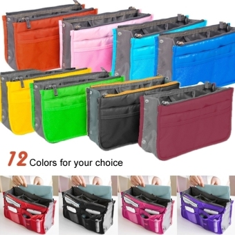 ETOP Women Travel Insert Handbag Organizer Purse Large linerOrganizer Tidy Bag Pouch (Red) (Intl) - 2