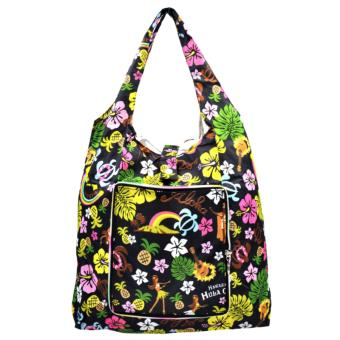 Everyday Deal Klein Travel Women Eco Shopping Bag Tote Handbag Foldable Reusable Portable Casual Storage Pouch (Aloha Hawaiian)