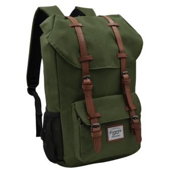 Everyday Deal Travel Laptop Backpack (Army Green) Price Philippines