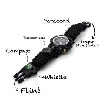 Exponi Paracord 6 in 1 Survival Watch - 3