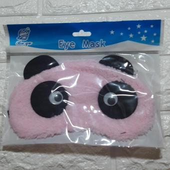 Eye Mask washable in Panda Pink giggling eyes design - 2
