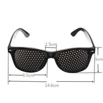 Eye Vision Care Eyesight Improvement Exercise Training Pinhole Eyewear Glasses Elec-Mall