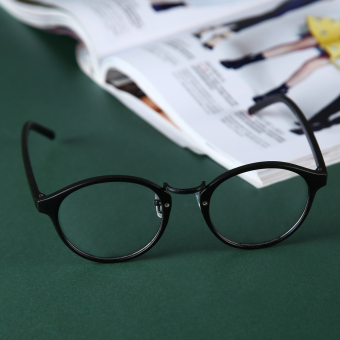 Eyeglasses Frame Optical Reading Eye Plain Glasses Black - 3