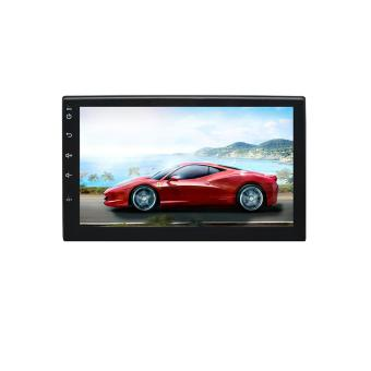 EzoneTronics 2 Din Universal Android 6.0 Car Player Stereo Radio 7 inch capacitive touch-screen GPS Navigation Wifi Bluetooth USB (No DVD)----RM-CT0018