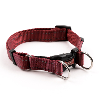 Ezydog Double Up Dog Collar (Red) - 2