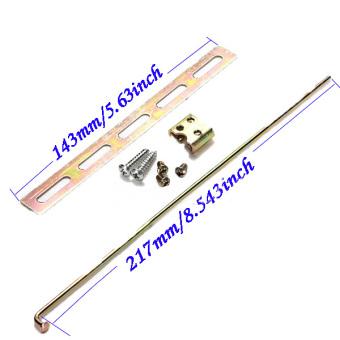 Fancytoy Car Plastic Universal Heavy Duty Power Door Lock ActuatorMotor 2 Wire 12V - 4