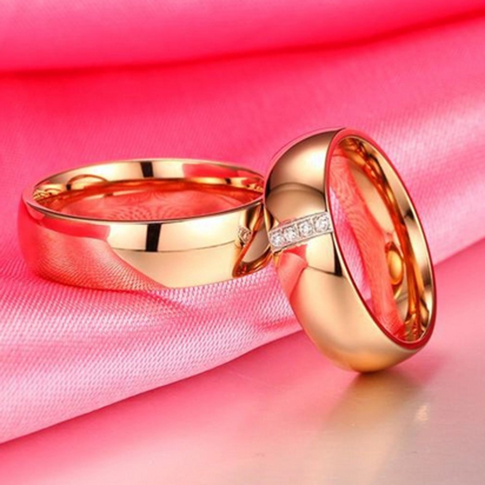 Philippines | Fashion 6MM titanium steel couple ring without ...
