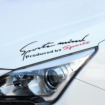 Fashion Car Stickers Decal Rv Trailer Decals Graphic Sticker Logo(black)