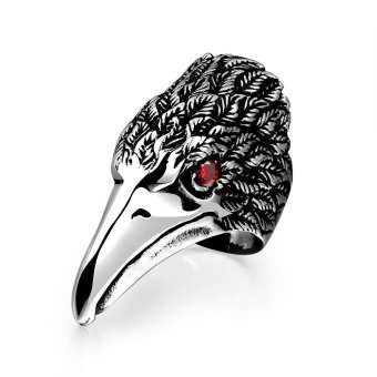 Fashion Men's Jewelry Eagle Stainless Steel Engagement Ring for Gift GMYR190