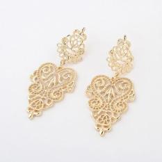 Fashion New Women Crystal Gold Silver Rhinestone Sterling ElegantJewelry Hoop Earrings Piercing Plated Clip Nose Zircon