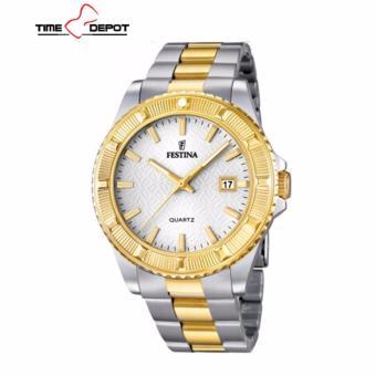 Festina F16683/1 Women's Two Tone Stainless Steel Analog Watch