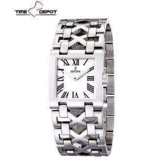 Festina Women's Quartz Watch F16466/5 with Metal Strap