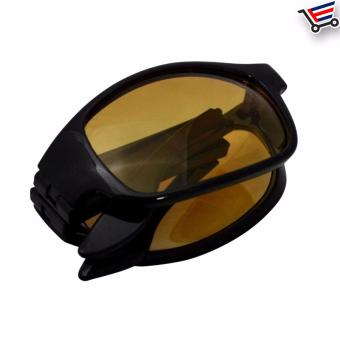 Fold-able HD Vision Night and Day High Definition Sunglasses/Eye wear - 2