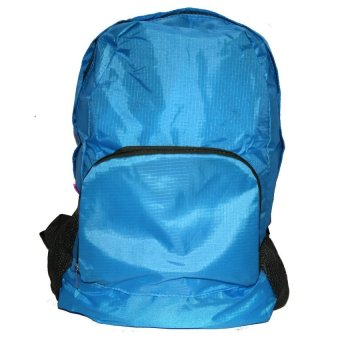 Foldable Bag Pack (Blue)