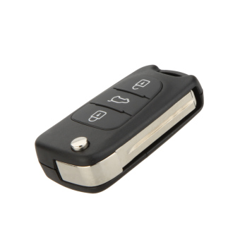 Folding Car Remote Key Shell Case for HYUNDAI i20 i30 Flip Fob 3Button