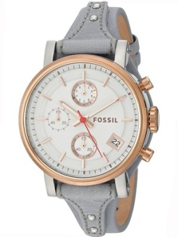 Fossil es4114 leather series multifunction quartz watch