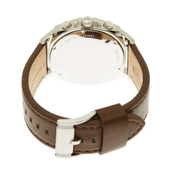 Fossil Privateer Men's Brown Leather Strap Watch BQ1732 - 2