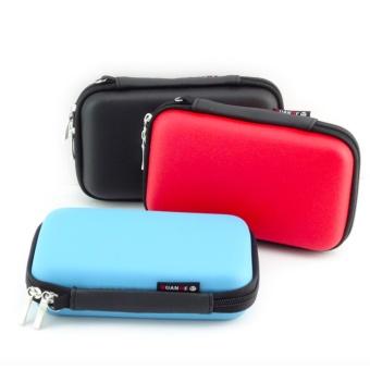 FREE Data Cable + Waterproof 2.5 Inch Travel Electronics DigitalGadgets Organizer Bag Storage Hard Case (Black) - intl - 3