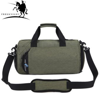 FreeKnight 5L Large Gym Handbag Unisex Round Fitness WaterproofShoulder Bag - intl - 2