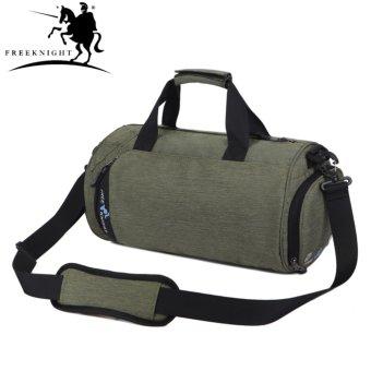 FreeKnight 5L Large Gym Handbag Unisex Round Fitness WaterproofShoulder Bag - intl - 3
