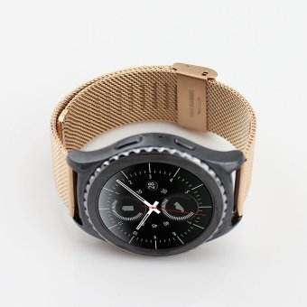 Philippines | Gear S2 Classic Watch Band (SM-R732),VENTER Stainless Steel MetalStrap Bracelet Replacement for Samsung Galaxy Gear S2 Classic The best price