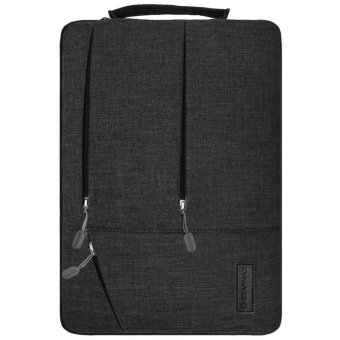 GEARMAX 14 Inch laptop sleeve for Acer/Dell/Lenovo/Asus/HP withHandle(Black) - intl - 5