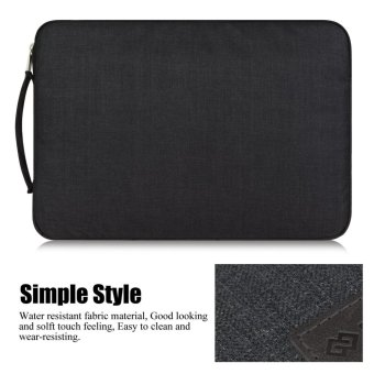 GEARMAX 14 Inch laptop sleeve for Acer/Dell/Lenovo/Asus/HP withHandle(Black) - intl - 4