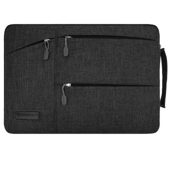 GEARMAX Fabric 12 inch laptop sleeve for macbook Air (Black) - intl