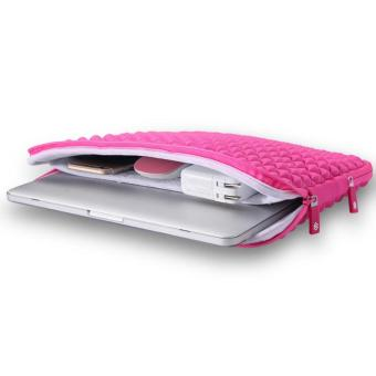GEARMAX Shockproof Laptop Sleeve Case for Apple MacBook 15.4 InchPink - intl - 3