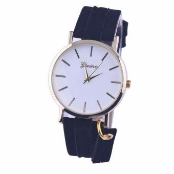 Geneva Aileen Women's Leather Strap Watch Buy 1 Take 1 (black andbrown) - 3