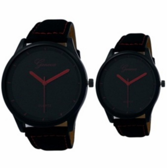 Geneva Matte Couple Watch (Red) Price Philippines