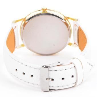 Geneva Mother of Pearl Dial Ladies Watch (White) - 3