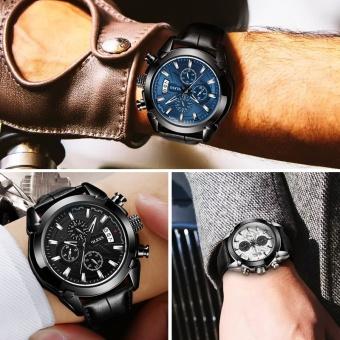 Genuine Automatic Watch OEVS Brand Men Calendar Display Quartz Auto Date Male Watches Water Resistant Sports Diver Wristwatch - intl - 5