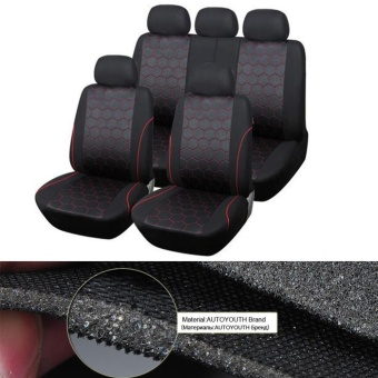 Gift Polyester Hexagon Style Auto Car Accessories Interiors Seat Covers & Support - intl - 2