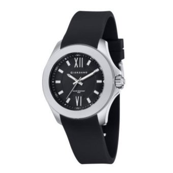 GIORDANO Men's Black Dial and Strap Watch G1711-01