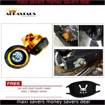 Gold Brembo Motorcycle Axle Nut Cover Axel Nut Universal Cap Modified for Yamaha Mio Soul i 125