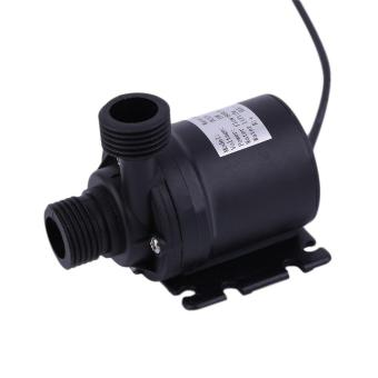 GOOD Ultra Quiet Mini Lift 5M 800L/H Brushless Motor Submersible Water Pump DC12V black - 2
