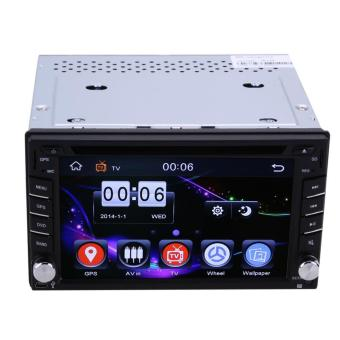 GPS Navigation 2Din HD Car Stereo DVD CD Player With Rearview camera - intl